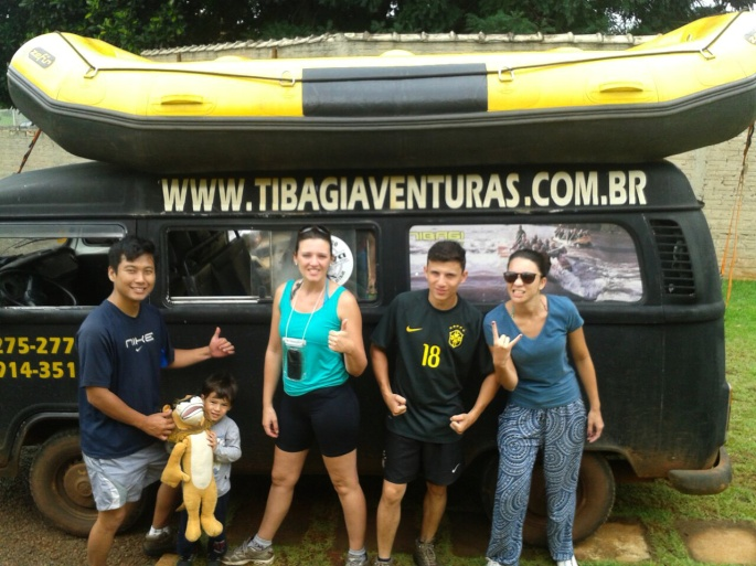 Rafting com Tiabagi aventuras