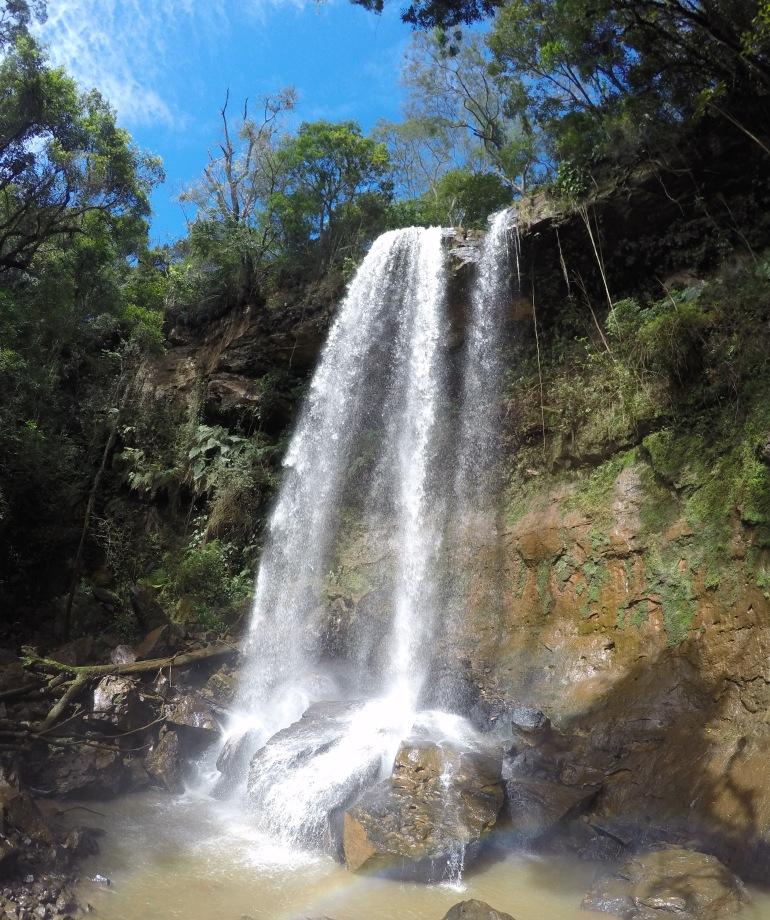 Cachoeira Estância Barão do Rio Branco Tamarana