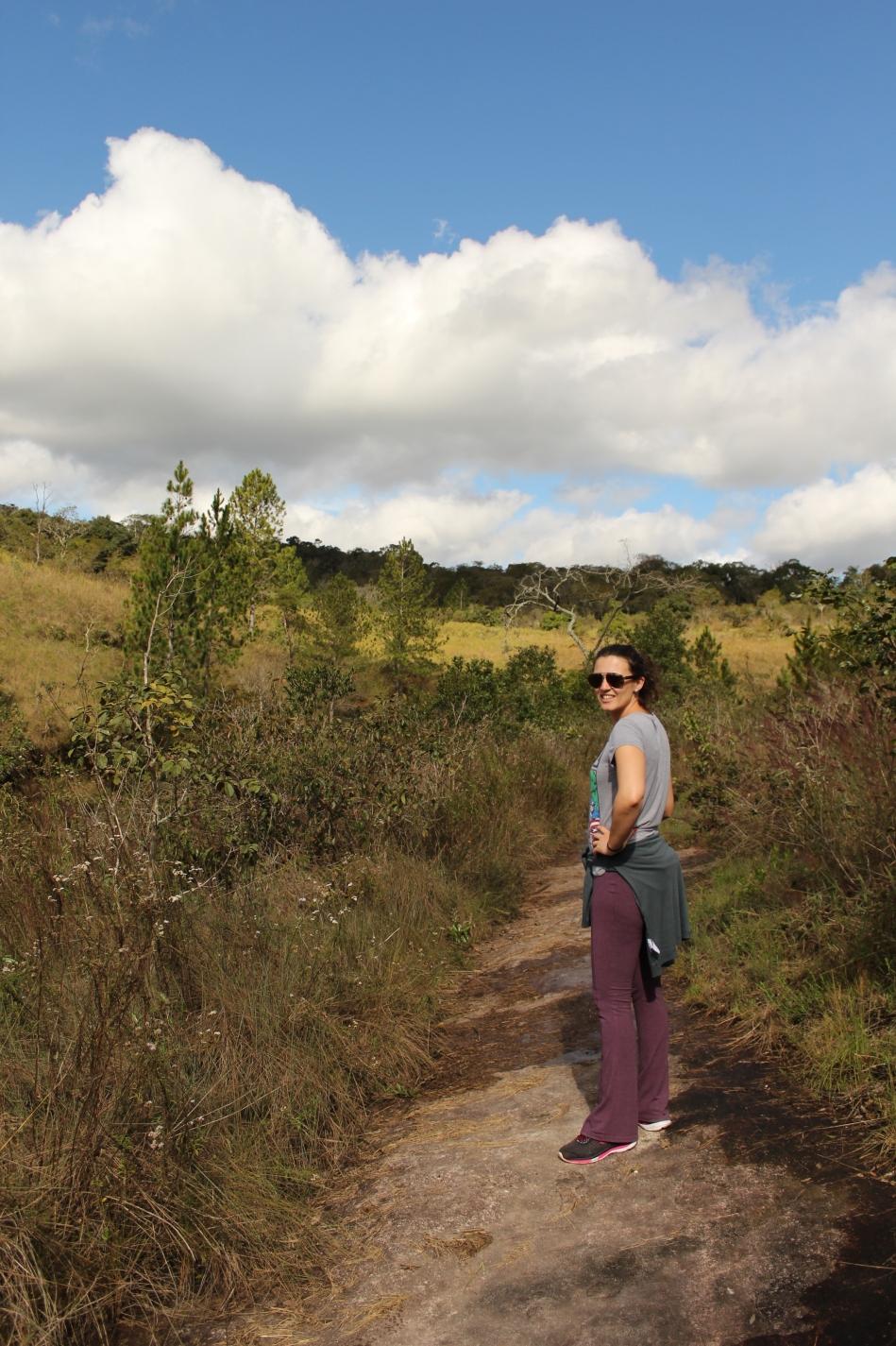trilha da Cachoeira do Chuveirinho_Barreira_Vale do Itararé