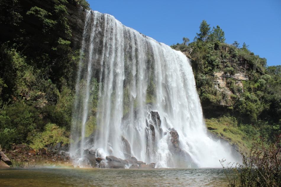 Cachoeira do Sobradinho Sengés paraná