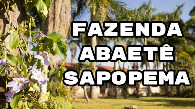 Fazenda Abaetê em Sapopema