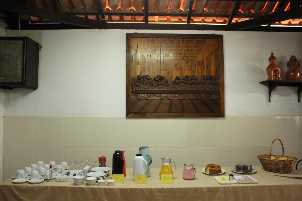 Café da manhã Pousada Topitó Itararé