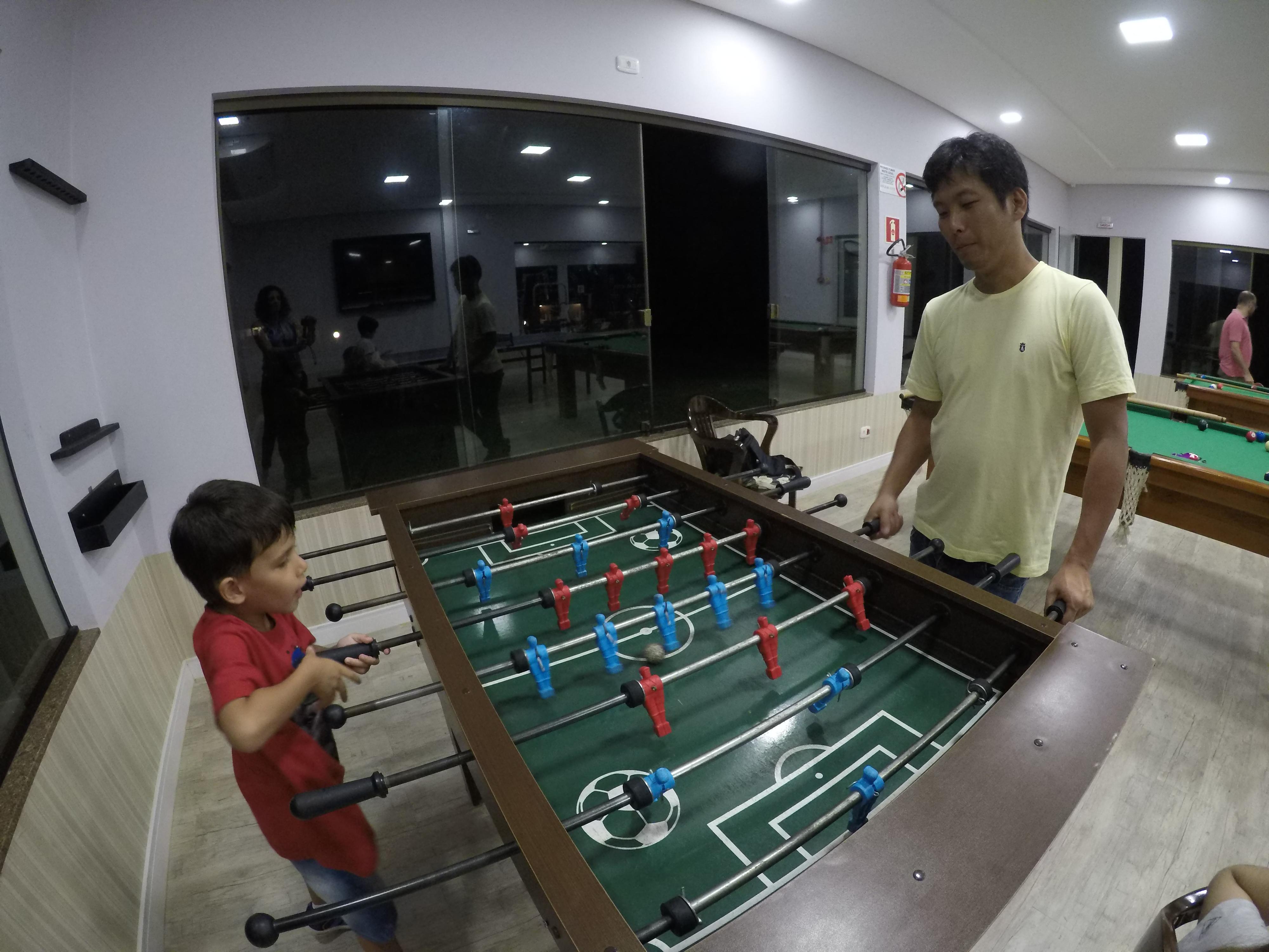 San Juan Eco hotel - salão de jogos