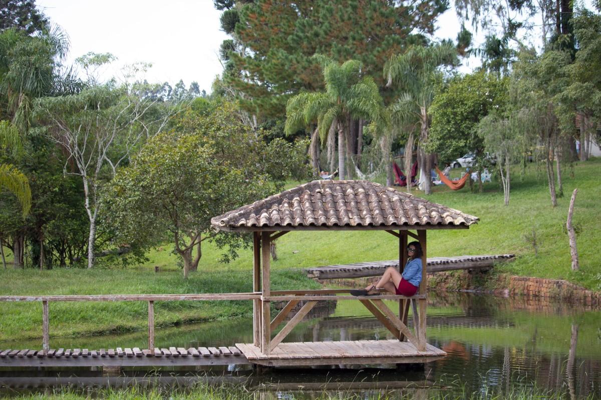 Para descansar ou se divertir, o Recanto Pinhão, em Mauá da Serra, é uma ótima opção.